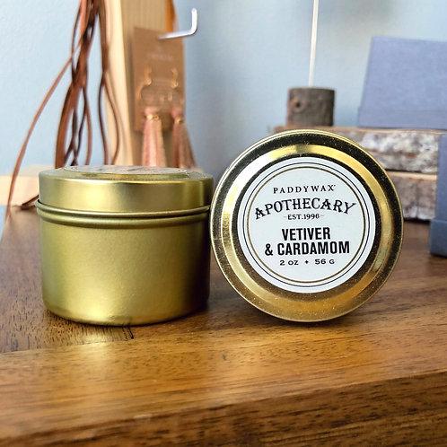 Vetiver & Cardamom - Candle 2oz