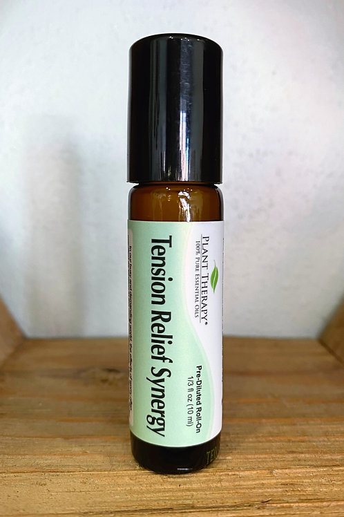 Tension Relief Synergy - Roll On Essential Oil