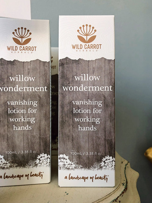 Wild Carrot - Willow Wonderment Hand Lotion