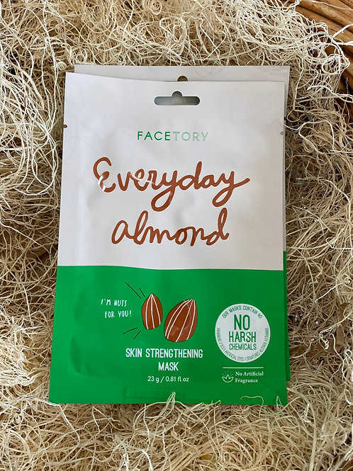 Face Mask - Everyday Almond Skin Strengthening Mask