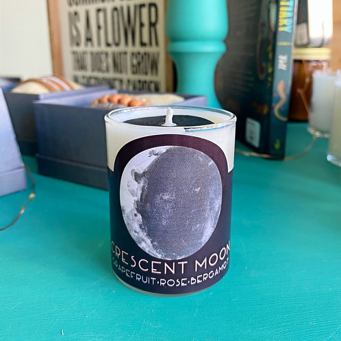 Candle - Crescent Moon