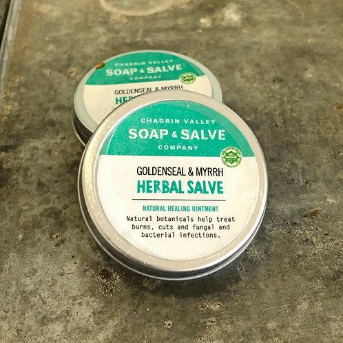 Goldenseal & Myrrh - Herbal Salve