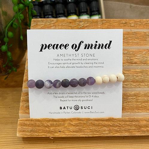 Peace of Mind - Diffuser Bracelet