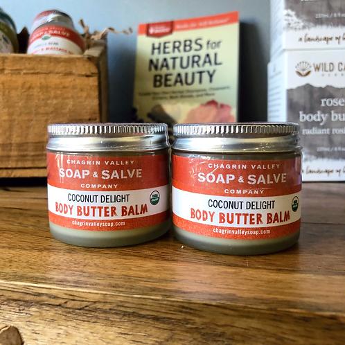 Body Butter Balm - Coconut Delight