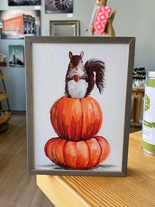 Wall Art - Autumn Squirrel Mini