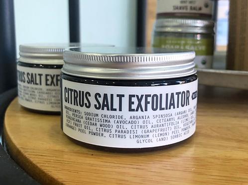 Citrus Salt Exfoliating Scrub