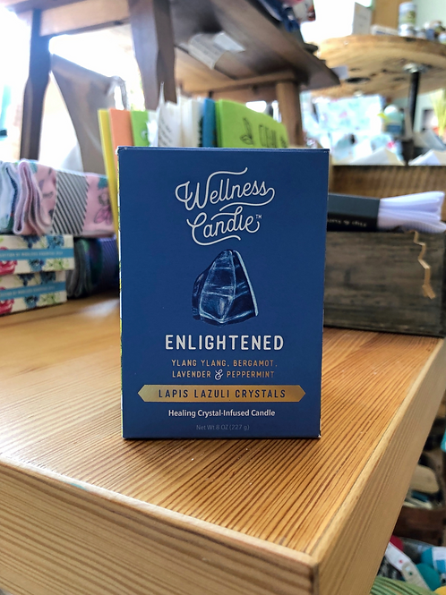 Enlightened - Wellness Candle 8oz