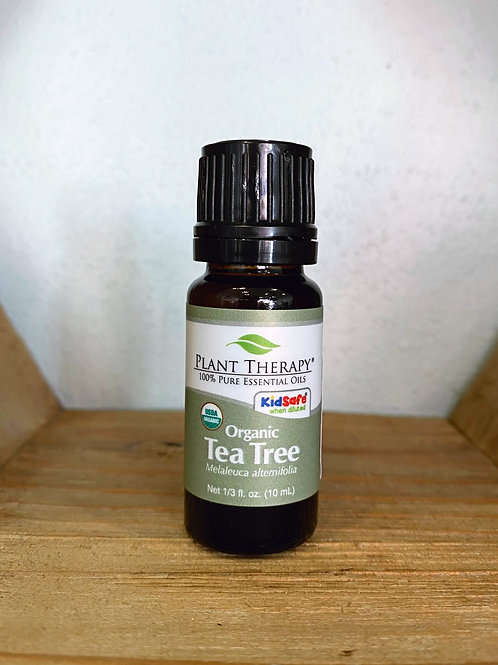 Organic Tea Tree 10ml - Essential Oil