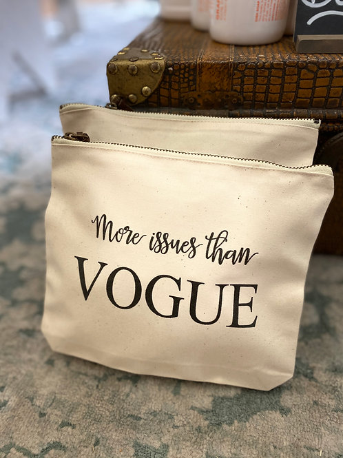 More Issues Than Vogue Pouch