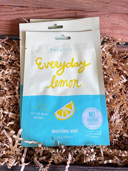 Face Mask - Everyday Lemon Brightening Mask