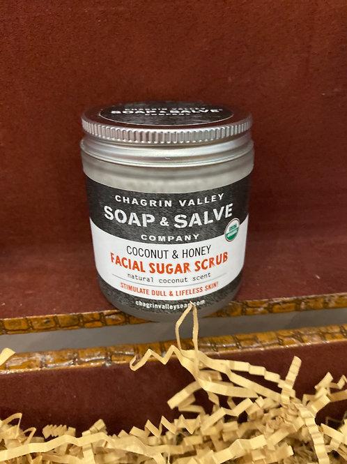 Coconut Honey Facial Scrub 4oz