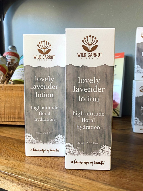 Wild Carrot - Lovely Lavender Lotion