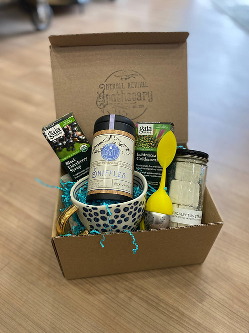 Cold & Flu Buster Deluxe Basket