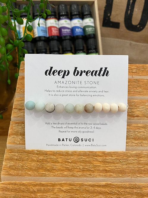 Deep Breath - Diffuser Bracelet