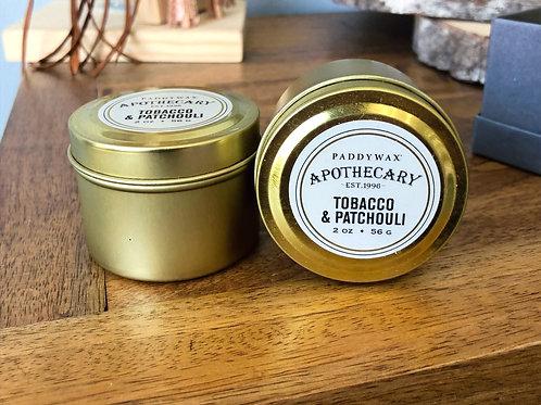 Tobacco & Patchouli - Candle 2oz