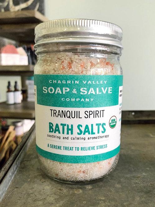 Tranquil Spirit - Bath Salts