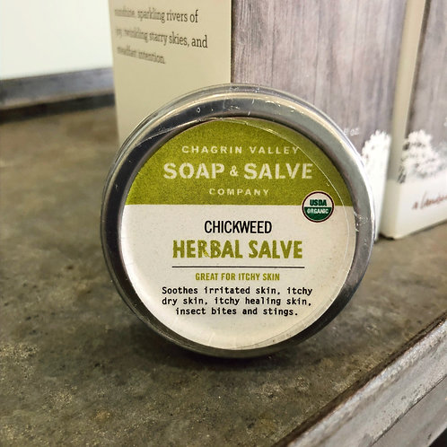Chickweed - Herbal Salve 1oz