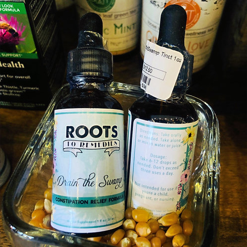 Roots To Remedies - Drain The Swamp Tincture