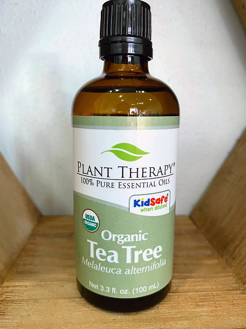 Organic Tea Tree 100ml - Essential Oil