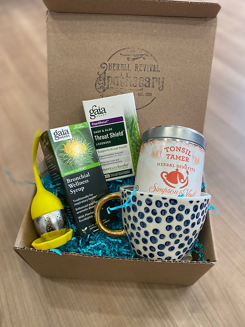 Sore Throat Soother Basket