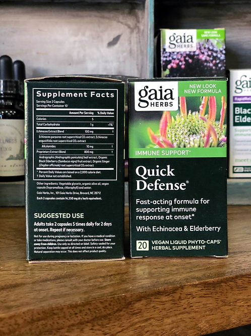 Gaia Herbs -Quick Defense