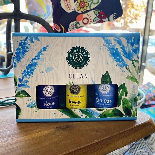 Clean - Essential Oil Set