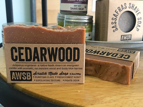 Cedarwood - Bar Soap