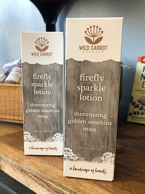 Wild Carrot - Firefly Sparkle Lotion