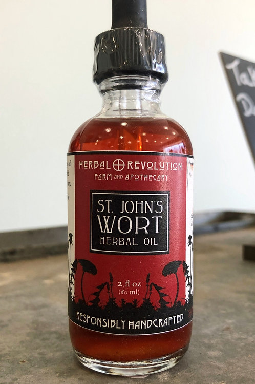 St. John's Wort Herbal Oil - Tincture