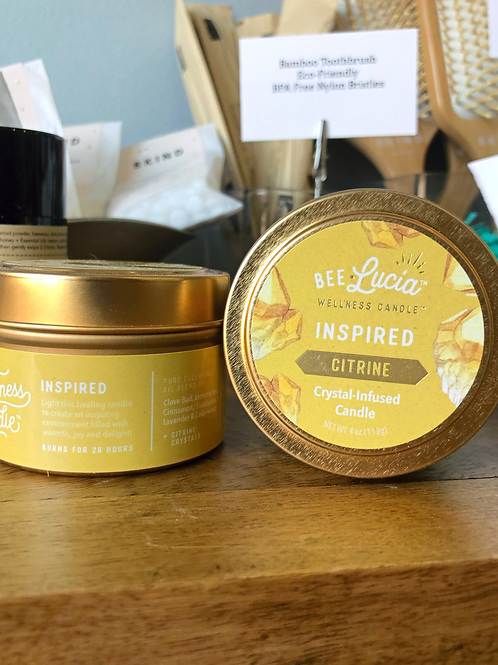 Inspired - Wellness Candle 4oz