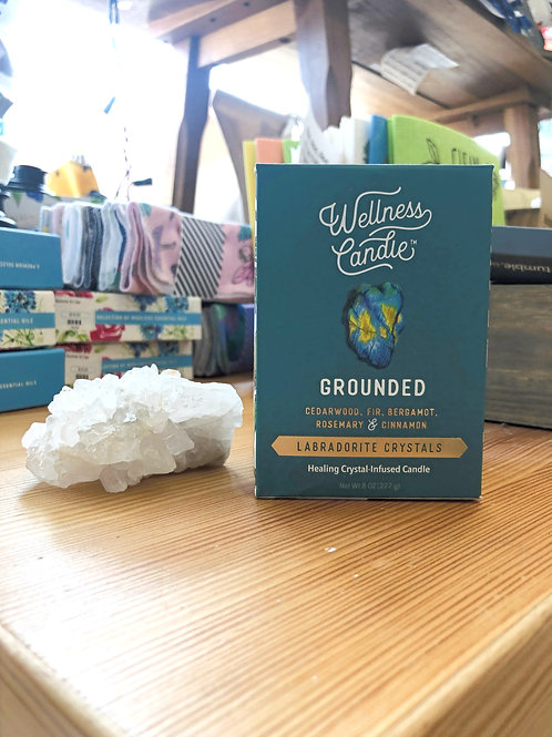 Grounded - Wellness Candle 8oz