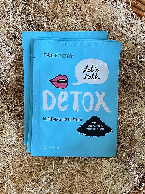Face Mask - Let's Talk Detox Purifying Pore Mask