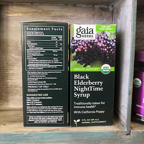 Black Elderberry NightTime Syrup