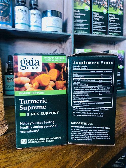 Turmeric Supreme - Sinus Support