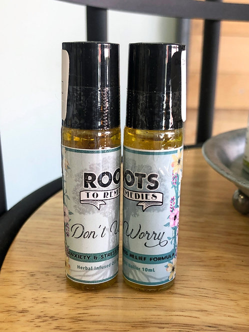 Don't Worry Roller - Stress/Anxiety Relief Formula
