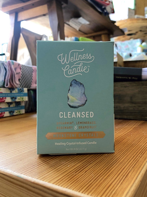 Cleansed - Wellness Candle 8oz