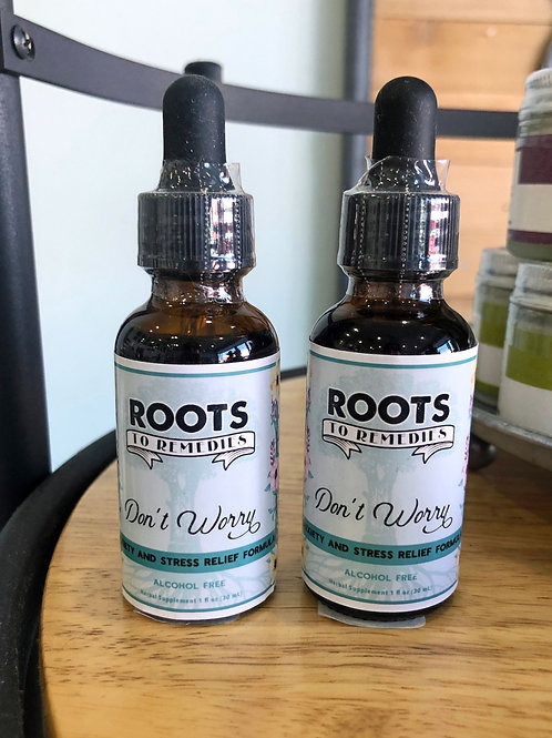 Don't Worry 1oz - Anxiety/Stress Relief Formula