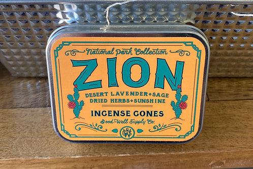 Zion Incense Cones