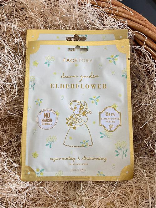 Face Mask - Dream Garden Elderflower Rejuvenating and Illuminating Mask