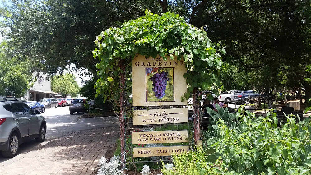Grapevine in Gruene TX