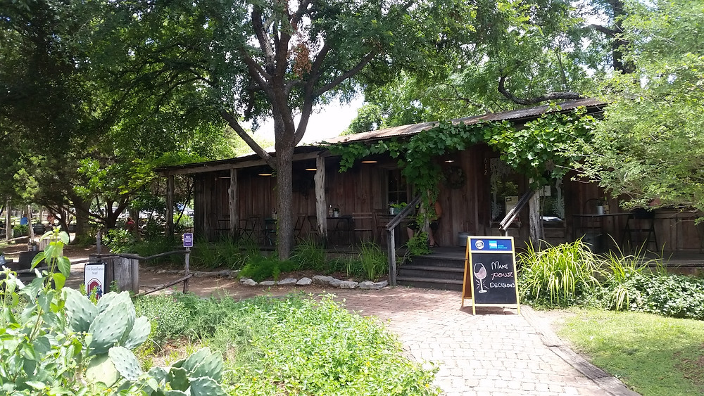 Grapevine Wine Cafe Gruene Texas