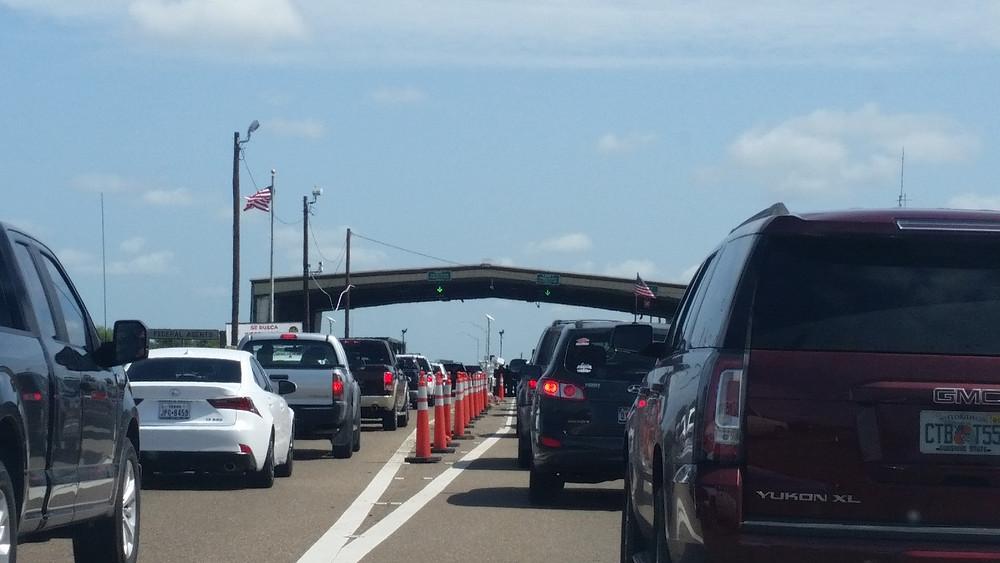 Border Patrol checkpoint Sarita Texas