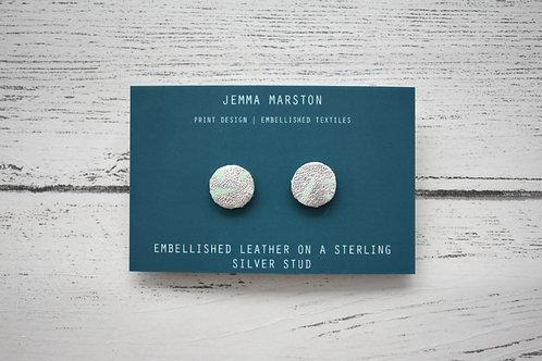 copy of Metallic Mini Leather Painted Studs