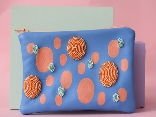 Colour Embellished Pouch