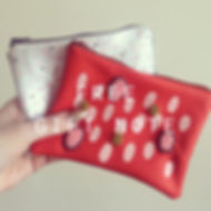 Embellished Pouches