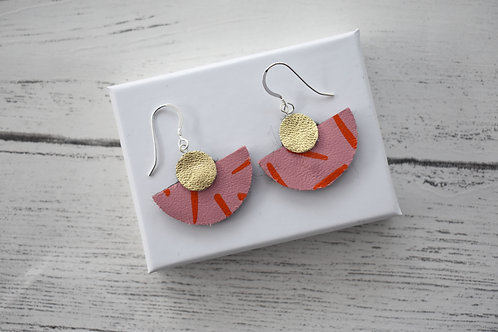 Half Moon Hook Earrings
