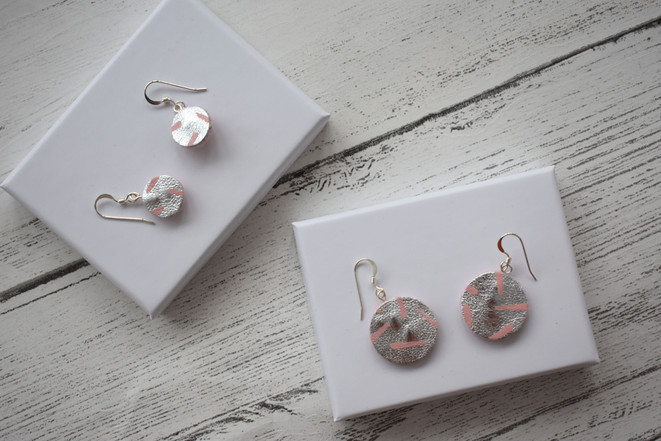 Painted Hook Earrings