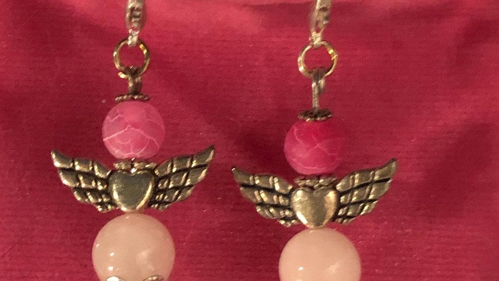 Angel 😇 earrings