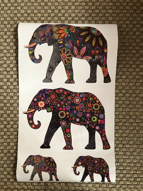 Elephants multi color