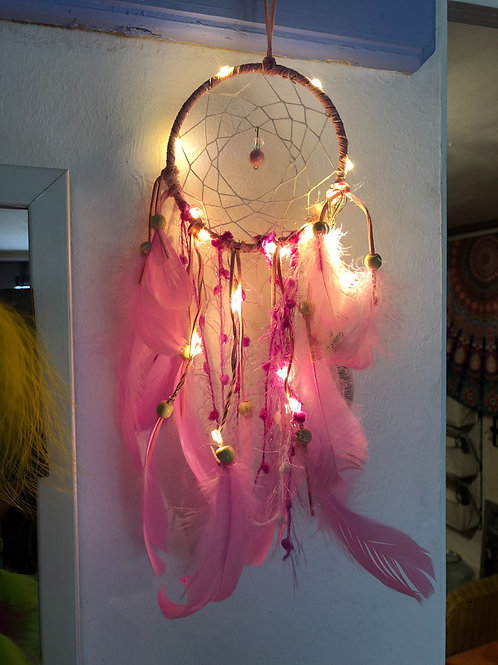 dreamcatcher with lights